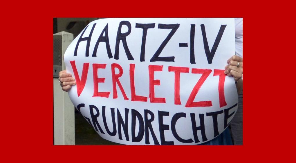 Hartz IV verletzt Grundrechte